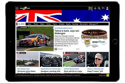 Motorsport.com lancia la piattaforma digitale specifica per l'Australia