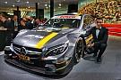 Mercedes dévoile sa voiture DTM 2016 à Francfort
