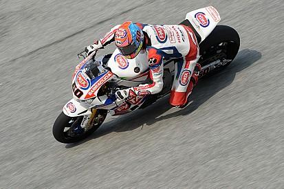 Une moto entièrement réassemblée pour Michael Van der Mark