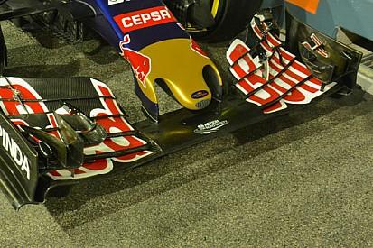 Toro Rosso: si moltiplicano gli upper flap sulla STR10