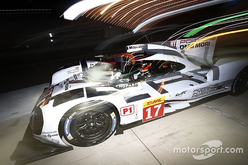 Porsche snatches top spot from rejuvenated Audi in night practice