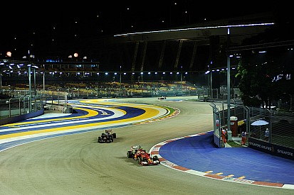 الفورمولا واحد تفرض قيوداً صارمة على حدود الحلبة في سنغافورة