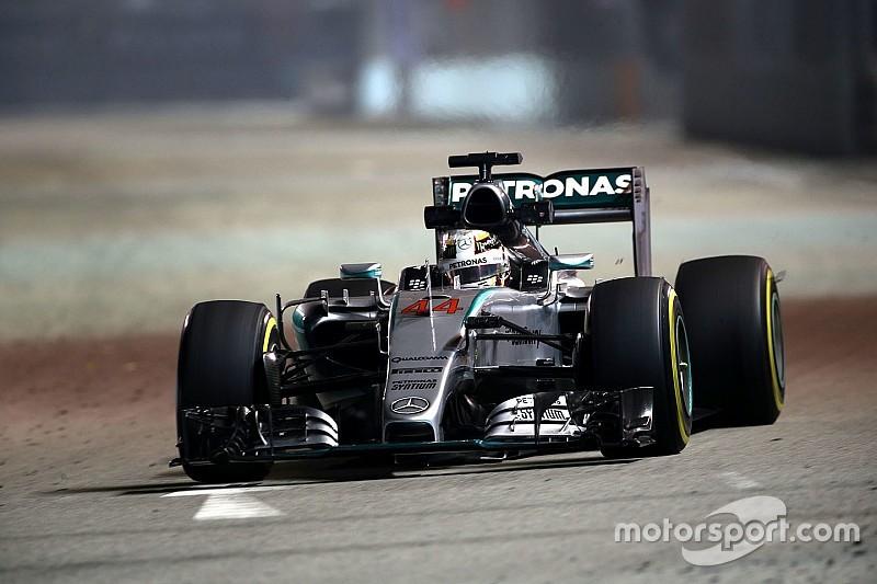 """4º, Hamilton teme concorrência: """"estão muito mais próximos"""""""
