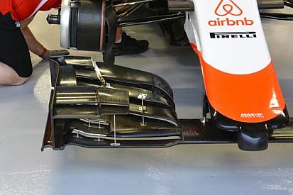 Manor: nuova ala anteriore, freni e brake duct