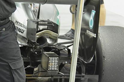 Mercedes con il Monkey seat da maggiore carico