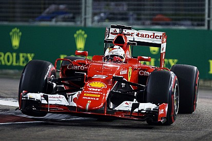 Singapore GP: Vettel tops final practice, Mercedes off the pace