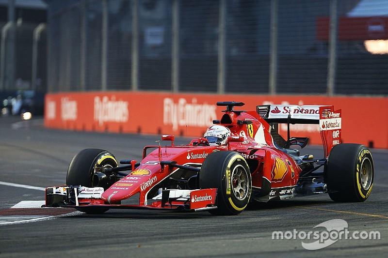 EL3 - Vettel et Ferrari dominent, Mercedes en retrait