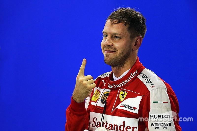Vettel marca primeira pole da Ferrari em três anos; Massa é 9º