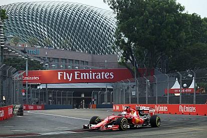 Singapore, Q2: Vettel il più veloce con un solo run