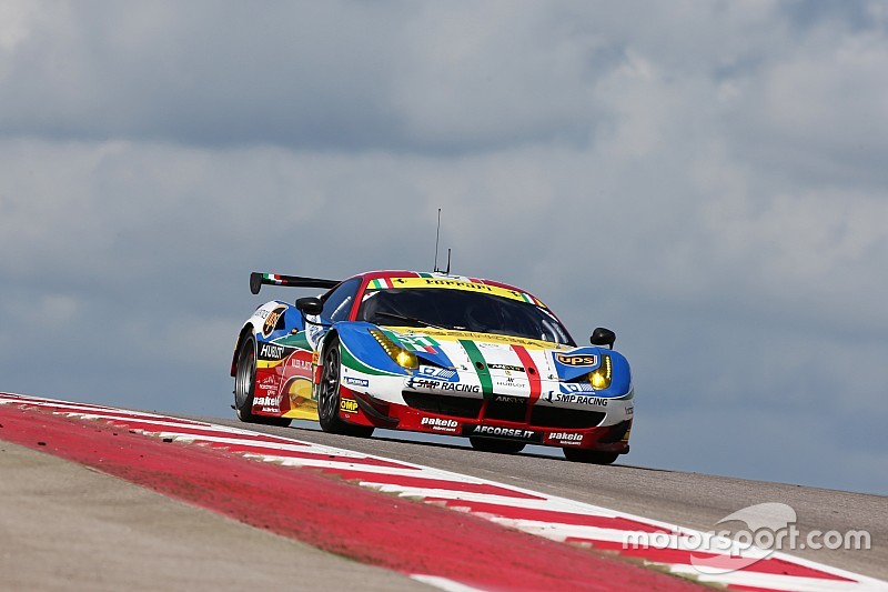 Qualifying without sparkles for Ferrari at Austin