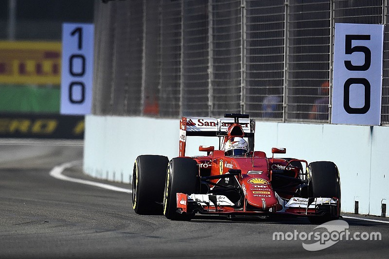 GP de Singapour - La grille de départ