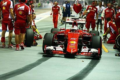 A Singapore Vettel riporta la Ferrari in pole position