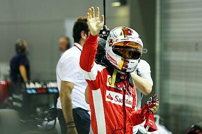"""Acabando com jejuns, Vettel diz que fez """"volta quase perfeita"""""""