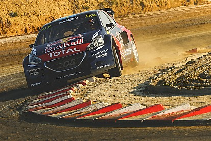 Timmy Hansen leads inaugural Barcelona RX