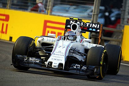 Bottas qualified seventh and Massa ninth for the Singapore GP