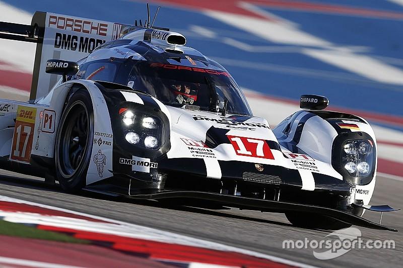 Porsche domina después de dos horas