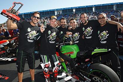 Jerez WSBK: Rea seals championship as Sykes takes win