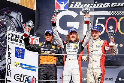 Podium and rookie trophy for Daruvala at Nurburgring