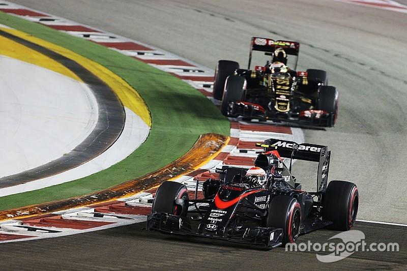 "Button says Maldonado ""won't ever change"" after clash"