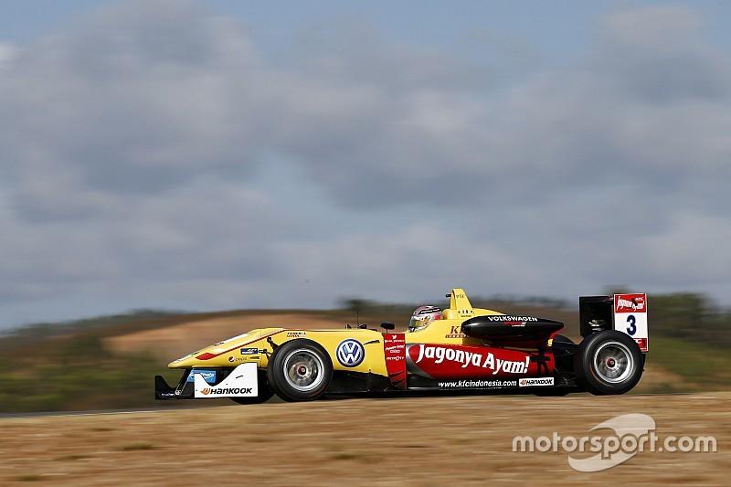 Джовинацци выиграл гонку Ф3 Мастерс