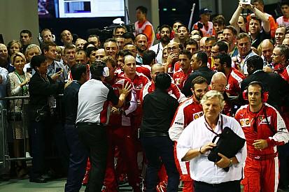 Ferrari terá de se desculpar por confusão durante comemoração