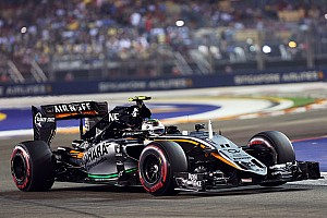 Formula 1 Breaking news Perez relieved to score points in a 'demanding' race