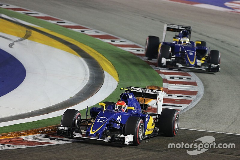Sauber scores another point in the Singapore GP