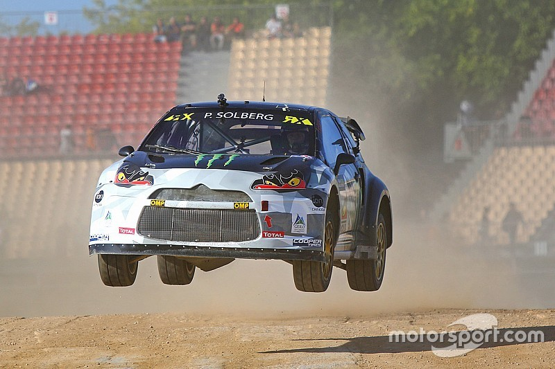 Solberg wins Barcelona RX after dominant final