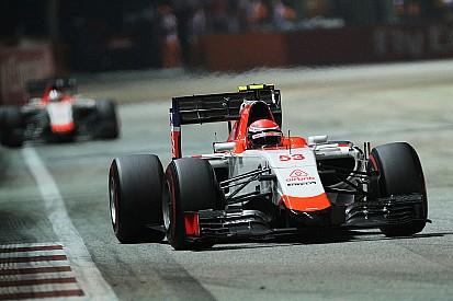 Alexander Rossi debuts at Singapore GP