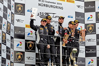 Мавланов поднялся на подиум Супертрофея Lamborghini