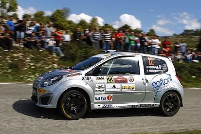 Festa per Federico Bottoni al Rally Roma Capitale