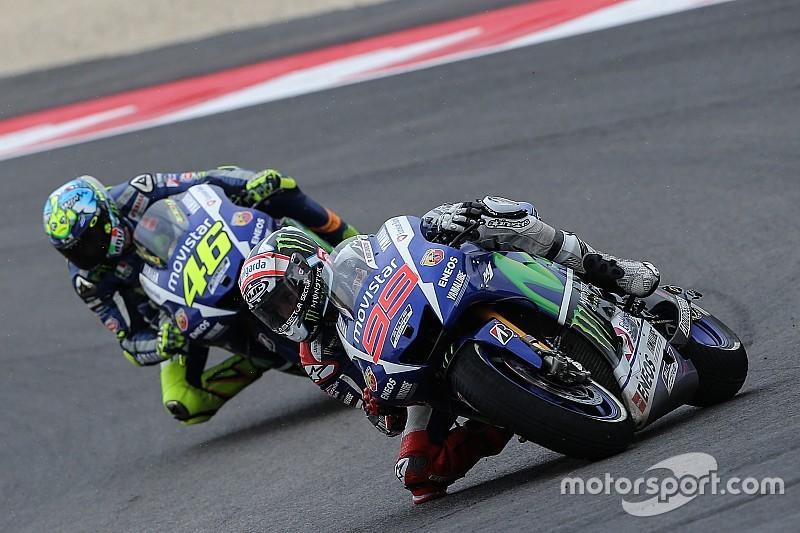 Lorenzo dice que es más rápido que Rossi y puede ganar el título