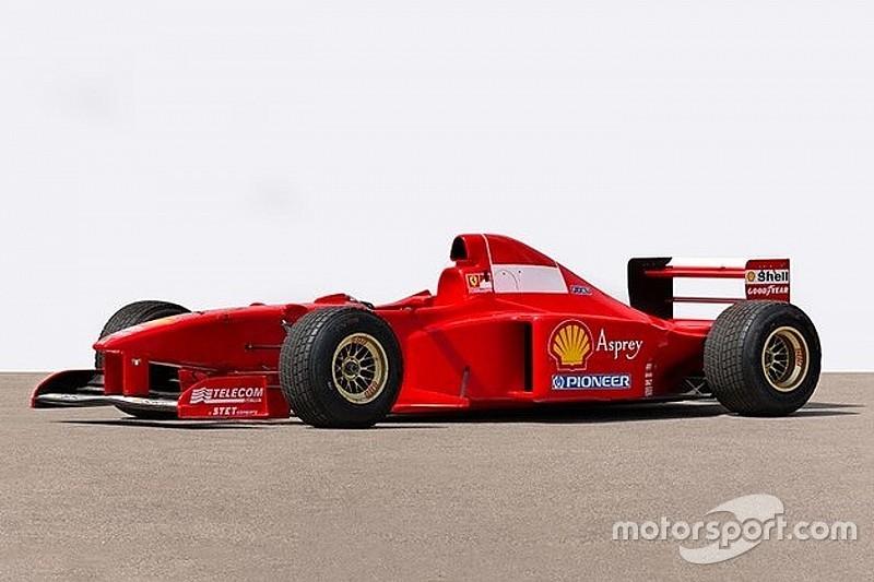 Ferrari de Schumacher de 1997 será leiloada por R$ 3 milhões