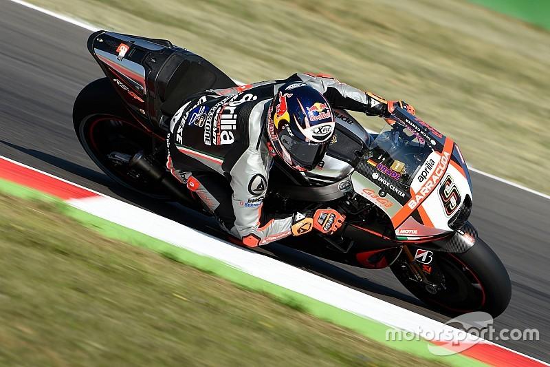 Stefan Bradl fährt auch 2016 mit Aprilia in der MotoGP