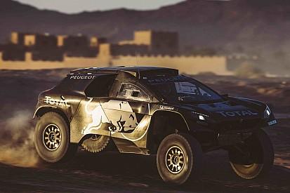 Peugeot presenta coche con que competirá en Dakar 2016