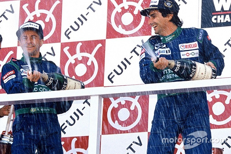 Piquet e Moreno: 25 anos da última dobradinha do Brasil na F1