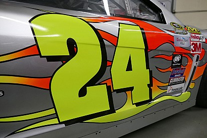 Jeff Gordon unveils paint scheme for final race