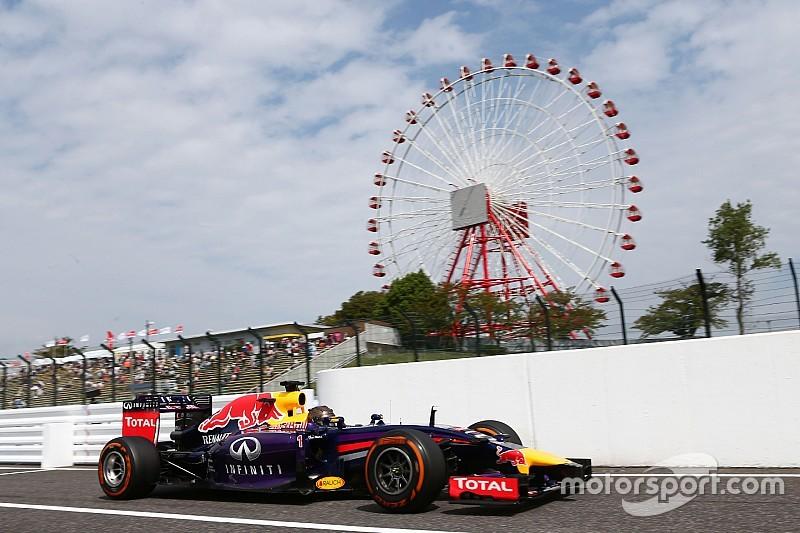 GP du Japon - Le programme TV du week-end