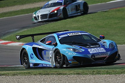 Daniel Mancinelli riparte della classe GT Cup