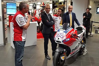 """Ducati """"vola"""" con l'Aeroporto di Bologna"""