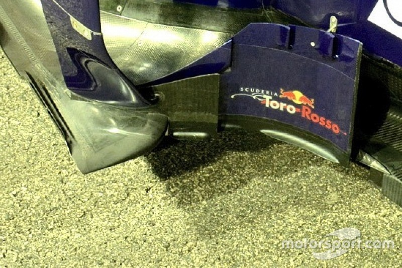 Toro Rosso: resta il doppio deviatore di flusso