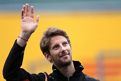 """Grosjean """"de plus en plus heureux"""" pour son avenir"""