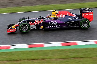 Kvyat controla la segunda práctica en Japón