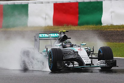 Mercedes: Limited running in wet conditions on Day One at Suzuka
