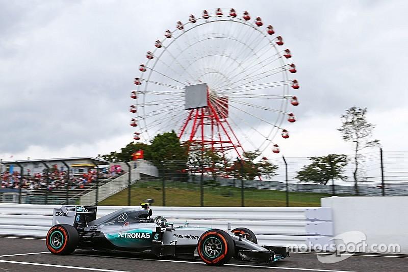 Le crash de Kvyat écourte la confrontation Mercedes remportée par Rosberg