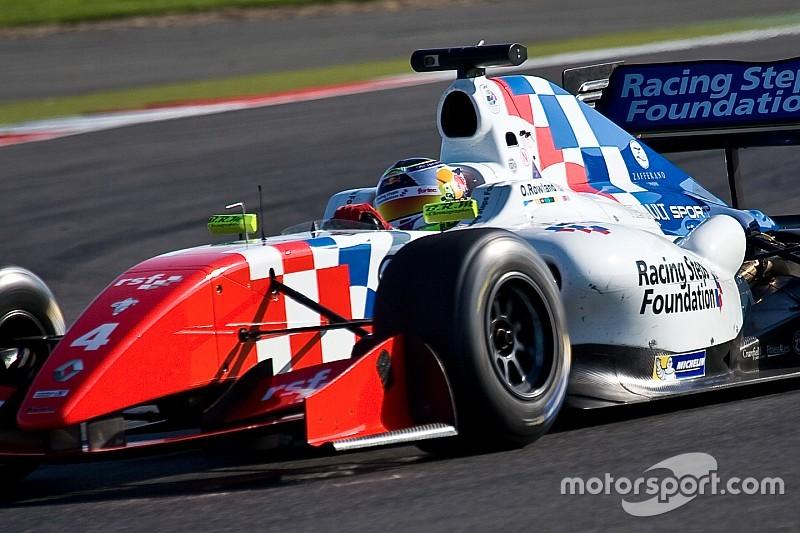Troisième pole position consécutive pour Rowland