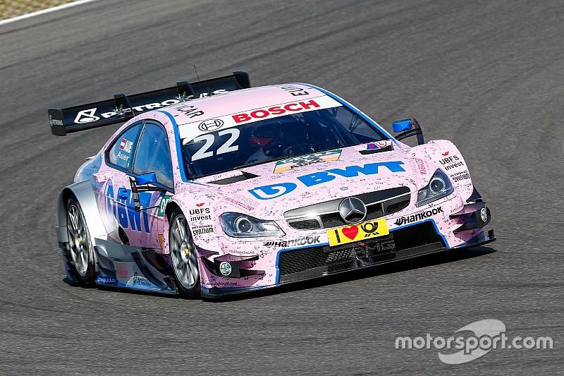Erste Pole-Position für DTM-Neuling Lucas Auer am Nürburgring
