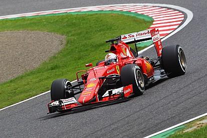 Second and third row for the Scuderia Ferrari at Suzuka