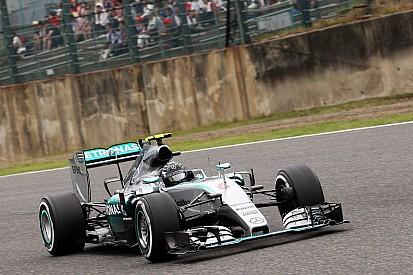 """Rosberg dijo que """"no podía permitirse quedar cuarto"""""""