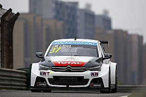 WTCC Race report Shanghai WTCC: Lopez wins as Citroen seals manufacturers' title